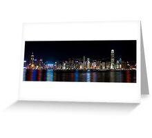 a historic Hong Kong landscape Greeting Card