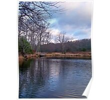 Late Autumn in the Poconos Poster