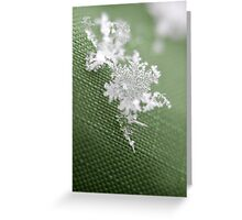 Snowflake III Greeting Card
