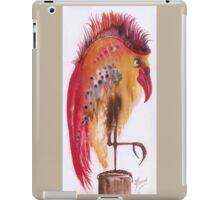 """Mr. Bird"" iPad Case/Skin"