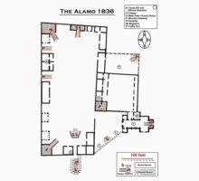 The Alamo 1836 Kids Tee