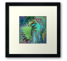 A Broken Wing - Abstract  Art + Products Design  Framed Print