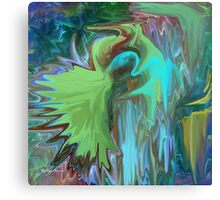 A Broken Wing - Abstract  Art + Products Design  Canvas Print