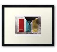 Simplicity Is Freedom Framed Print