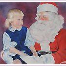 Visiting Santa by Bobbi Price