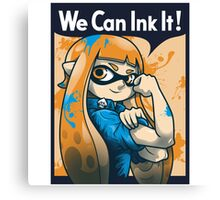 We Can Ink It! Canvas Print