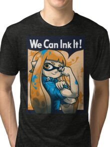 We Can Ink It! Tri-blend T-Shirt