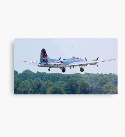 B-17 Yankee Lady Metal Print