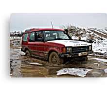 Landrover Discovery Canvas Print