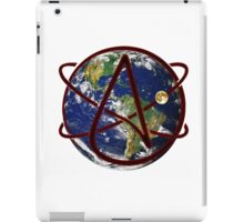 Atheist Earth iPad Case/Skin