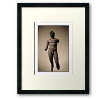 Stick Figure Framed Print