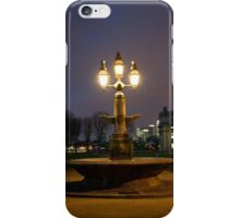 Greenwich fountain iPhone Case/Skin