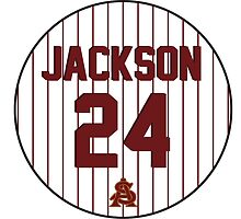 Retro Reggie Jackson Arizona State University Jersey by dswift