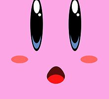 kirby face by Daniel Bonney