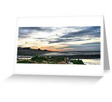 Seasalter Sunset Greeting Card