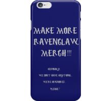 RAVENCLAW PROTEST VERSION 2 iPhone Case/Skin