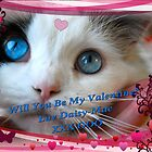 Daisy SENDS YOU LUV, LUV, LUV!!! by Carol Clifford