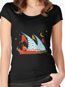 Ottoman Ship Women's Fitted Scoop T-Shirt