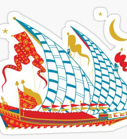 Ottoman Ship Sticker