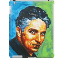 The Original Movie Star - Charlie Chaplin Tribute iPad Case/Skin