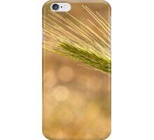 Barley grass  iPhone Case/Skin