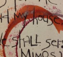 Serve Mimosas Sticker