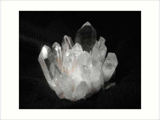 Quartz Crystals by May Lattanzio