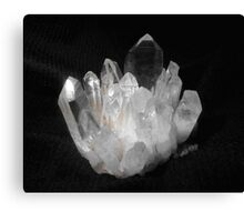 Quartz Crystals Canvas Print