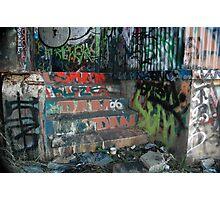 """ Dear Urban Decay "". Photographic Print"