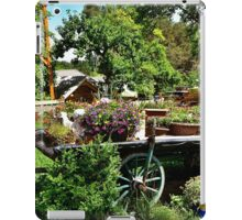 Country Wagon with Flowers iPad Case/Skin