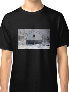 Old Barn after the Snow Classic T-Shirt