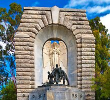 Australia-SA-NationalWarMemorial by Geoffrey Thomas