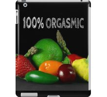 100% Orgasmic iPad Case/Skin