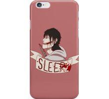 Go To Sleep iPhone Case/Skin