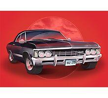 1967 Chevorlet Impala - Supernatural TV SHow Photographic Print