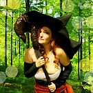 Sorceress - Forest Magic by Gabrielle Wilson