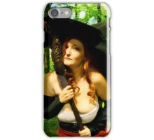 Sorceress - Forest Magic iPhone Case/Skin