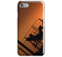 Lounging at sunset iPhone Case/Skin