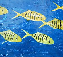 Golden Trevally by kristenashton