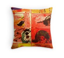 Abstract Expression 4. Throw Pillow