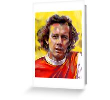 Liam 'Chippy' Brady - Arsenal Legend Greeting Card