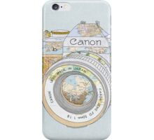 Travel Canon iPhone Case/Skin