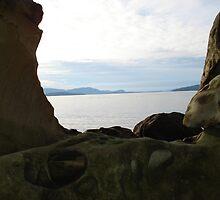 Water through the rocks by Dorthy Ottaway