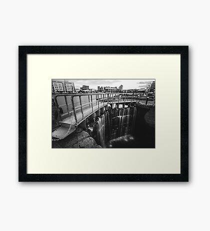 Grand Canal Dock Framed Print
