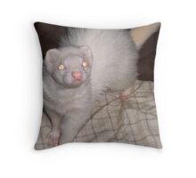FERRETS JUST WANNA HAVE FUN Throw Pillow