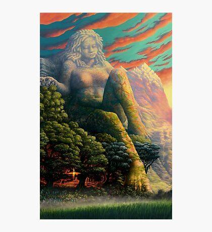 Earth Goddess Photographic Print