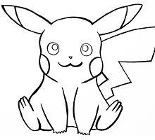 Pokemon - Pikachu Sketch by mastermxx