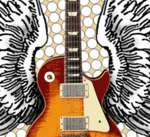 Angel Guitar Sticker