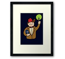 When I grow up I want to be The Doctor Framed Print