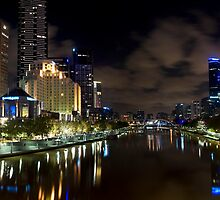 Melbourne Reflections, Victoria by Darren Greenwell